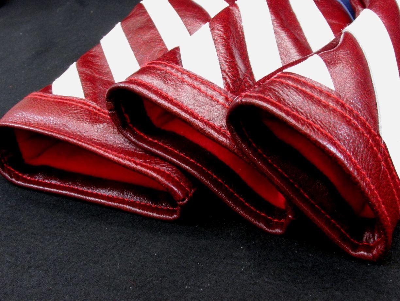 1bad74881e4 Handmade Stars and Stripes Leather Headcover Set - HEADGEAR GOLF