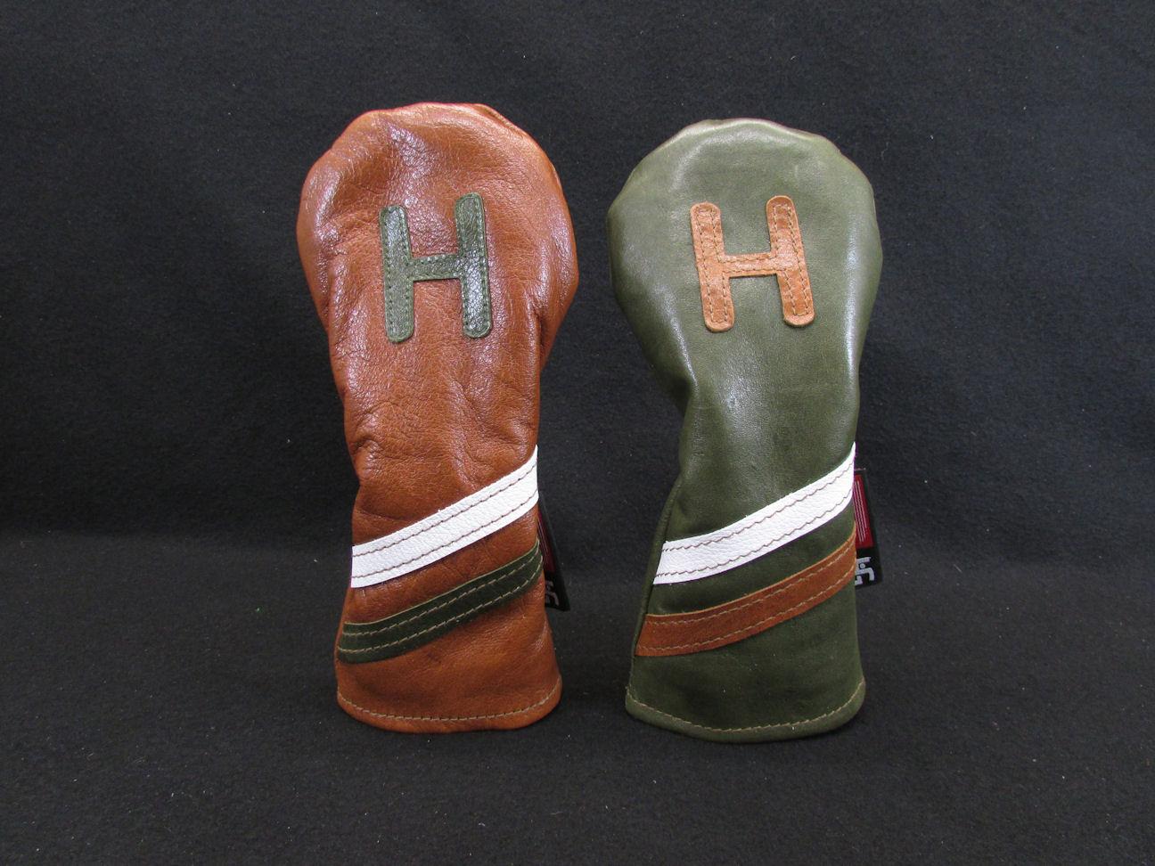 Rare Kangaroo Leather Hybrid Headcover Headgear Golf
